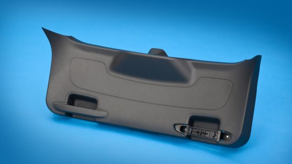 Integrated Liftgate Trim Grab Handle