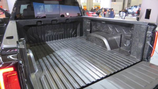 carbon fiber pickup bed